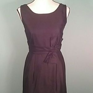 Kate Spade size 4 black mini dress bow